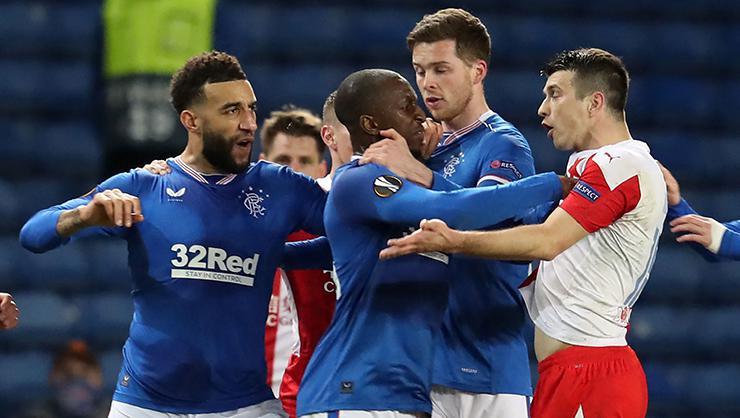 Rangers-Slavia Prag maçında ırkçılık skandalı