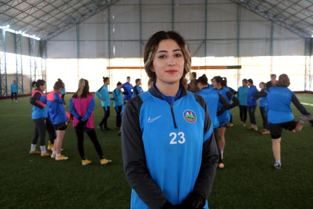 Yüksekova Kadın Futbol Takımının hedefi 1. Lig