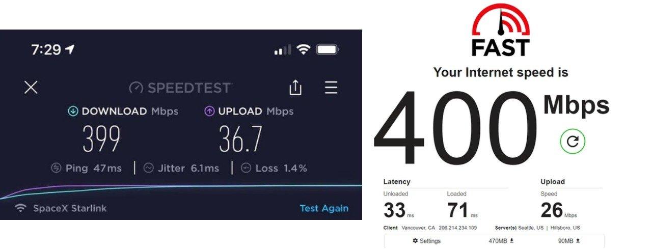 starlink internet hızı