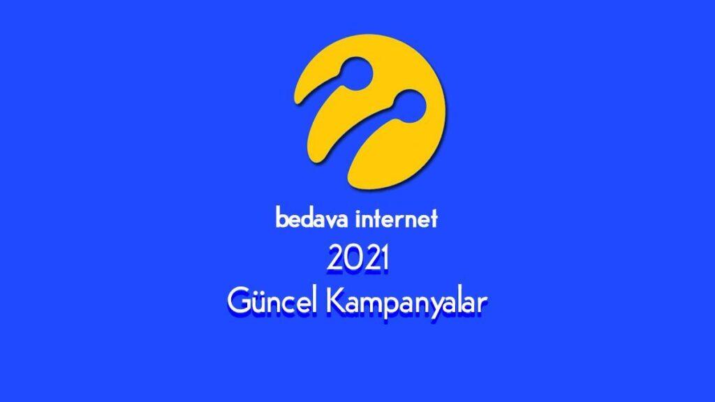 Turkcell Bedava Internet Paketleri 2021